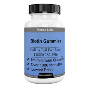 Biotin Hair and Care Gummies